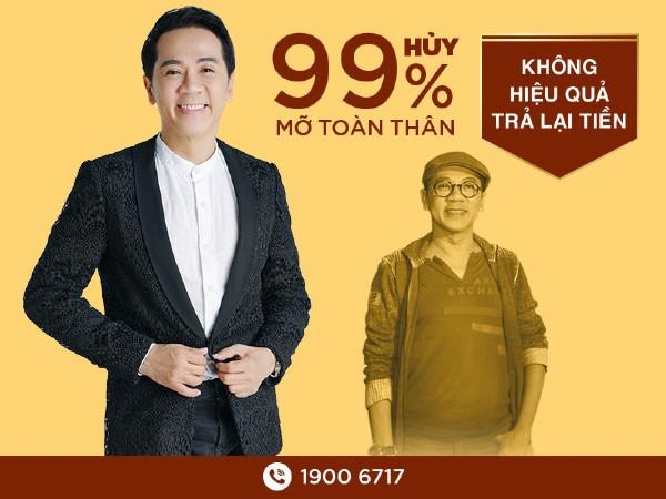 Nghệ sĩ Thành Lộc giảm 20cm vòng bụng sau 1 tháng với giảm cân Miko