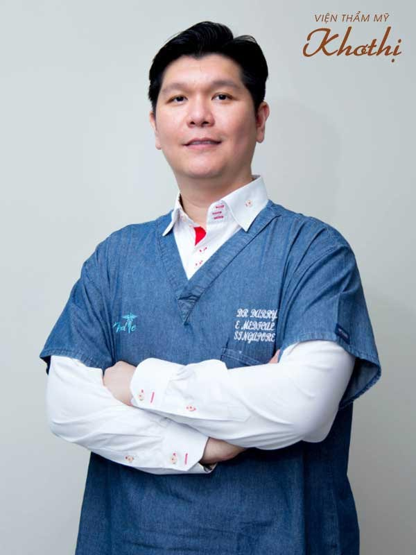 """Thạc sĩ, bác sĩ Darry Chew – """"Cây kim vàng"""" thẩm mỹ Singapore"""