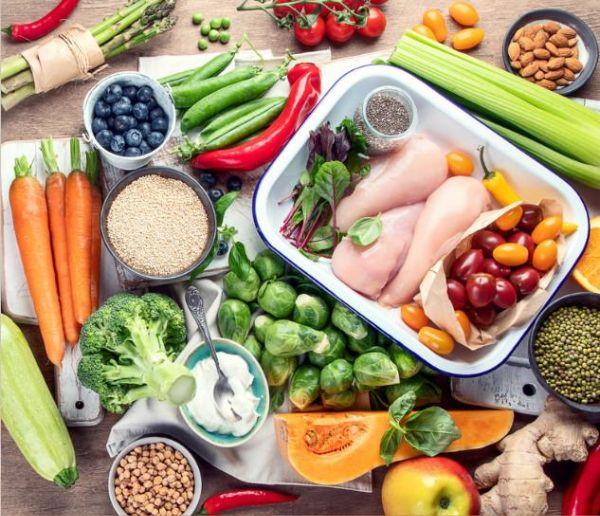 Các loại thực phẩm thuộc nhiều nhóm dinh dưỡng khác nhau cung cấp chế độ ăn khoa học bổ sung vitamin, collagen tự nhiên rất cần thiết