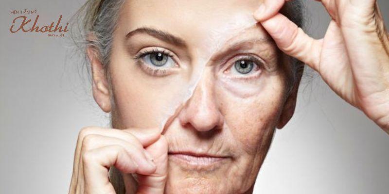 Mách bạn cách làm săn chắc da sau khi giảm cân da mặt bị chảy xệ