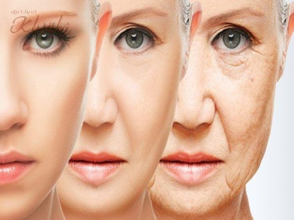 Vùng da chảy xệ do lão hóa cũng phần nào khiến mặt bạn trông béo hơn