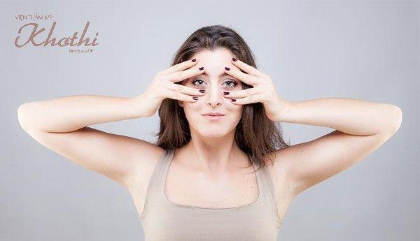 Nâng cơ mặt V-line với các bài tập yoga cho mặt