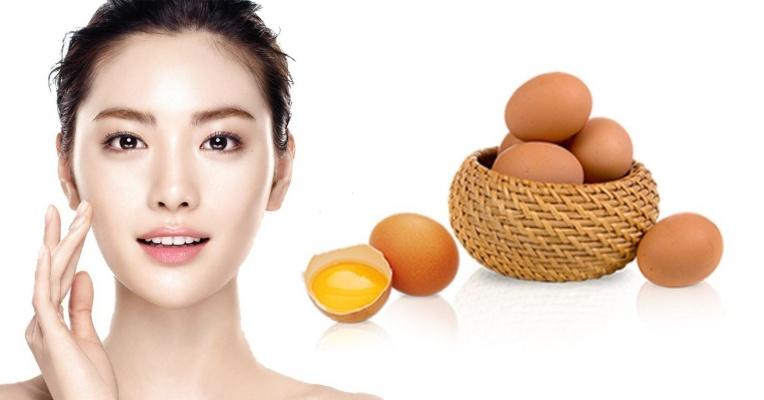 Hiệu quả bất ngờ khi làm trẻ hóa da mặt bằng trứng gà