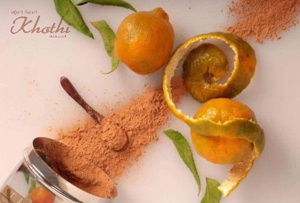 Bột từ vỏ cam quýt là một nguyên liệu trẻ hóa da tại nhà hiệu quả