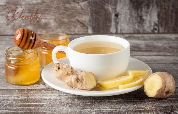 Uống nước mật ong pha gừng giảm mỡ siêu tốc
