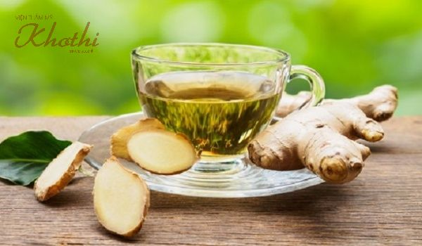 Thanh lọc cơ thể với trà gừng vị trà xanh