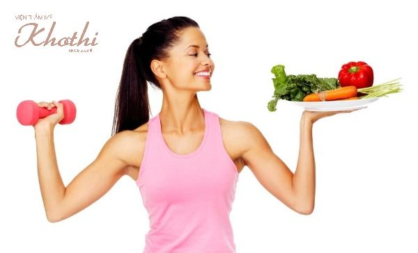 Giảm cân với gừng cần kết hợp chế độ ăn uống và tập luyện lành mạnh