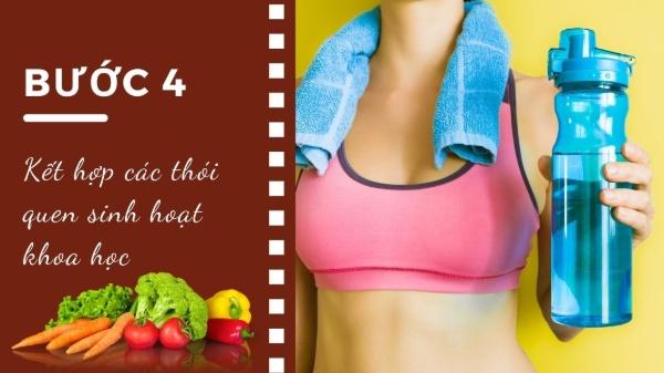 Kết hợp các thói quen sinh hoạt khoa học sẽ giúp tăng sức khỏe cho cơ thể và làn da của bạn.