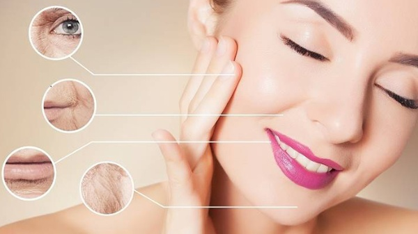Làn da trở nên mịn màng, nếp nhăn được làm mờ nhờ massage da mặt