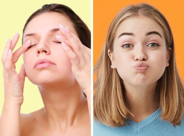 Thực hiện yoga face thường xuyên giúp nâng cơ mặt hiệu quả
