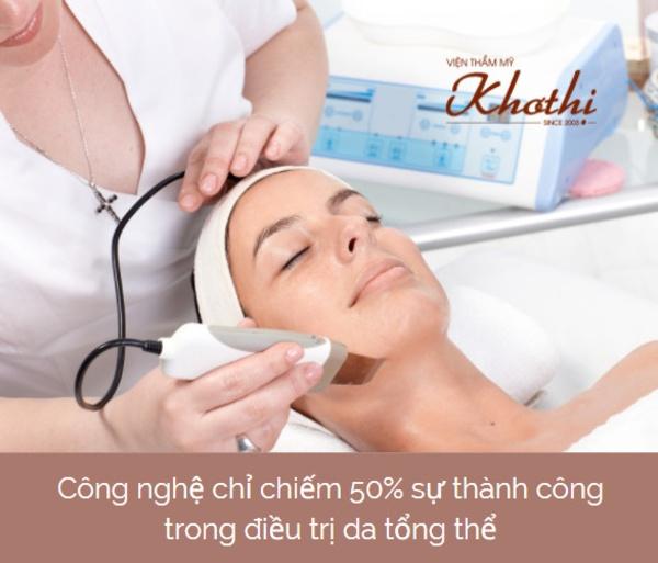 Những chỉ dẫn chuyên môn rất quan trọng trong điều trị tổng thể các vấn đề về da.