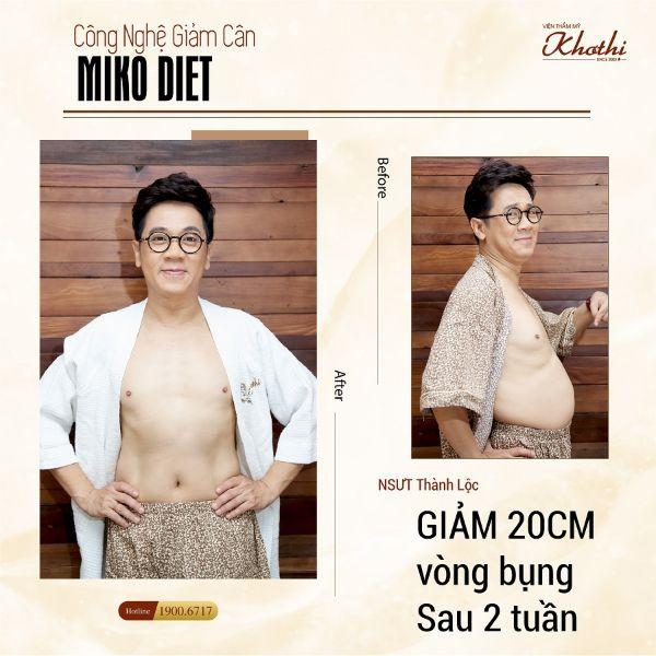 Giảm cân Miko giúp bạn có được một cơ thể không chỉ thon gọn và còn săn chắc