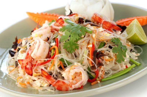 Salad tôm hấp dẫn giúp giảm cân hiệu quả