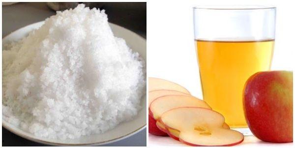 Giảm cân bằng giấm táo và muối, đơn giản nhưng rất hiệu quả