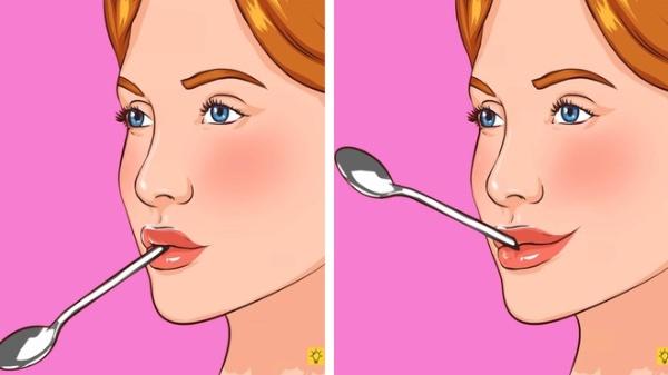 Chỉ với một chiếc muỗng sẽ giúp da mặt bạn săn chắc hơn