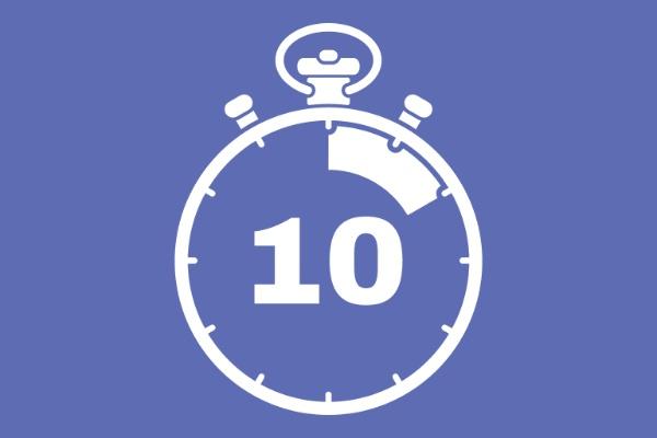 Chiếc đồng hồ hẹn 10 phút có ý nghĩa không nên thực hiện quá 10 phút mỗi ngày