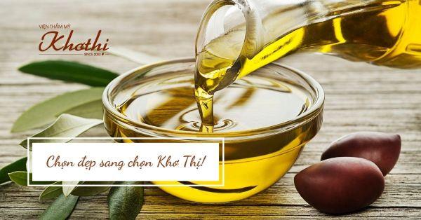 Sử dụng dầu oliu giảm cân đang là giải pháp được nhiều chị em ưa chuộng