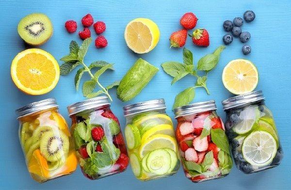 detox giảm cân sau sinh