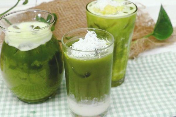 Nước ép rau má kết hợp cùng các loại củ quả khác sẽ cho vị mới lạ và hấp dẫn