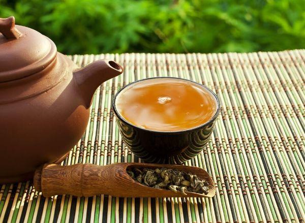 Uống trà ô long giảm cân, tiêu mỡ bụng, đẹp dáng