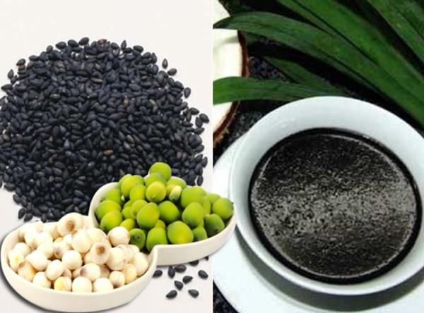 Vừng đen kết hợp hạt sen sẽ giúp bạn có giấc ngủ tốt hơn trong quá trình giảm cân