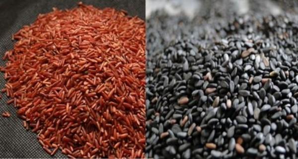 Giảm cân bằng vừng đen gạo lứt vô cùng tiện lợi