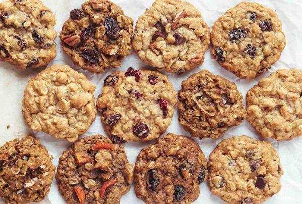 Bánh cookie chuối + yến mạch giảm cân hiệu quả