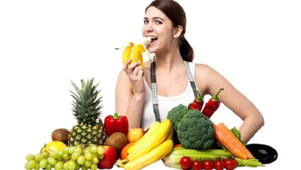 Xây dựng thực đơn giảm cân kết hợp rau xanh và trái cây