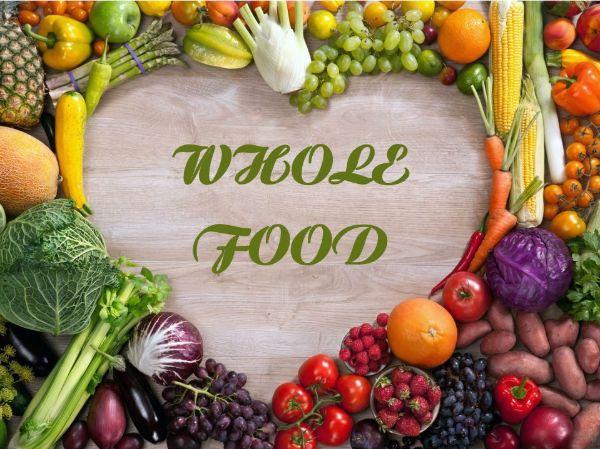 Thực phẩm whole foods chứa nhiều chất xơ và các chất béo lành mạnh.