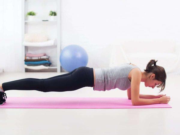 Bài tập plank giúp bụng săn chắc