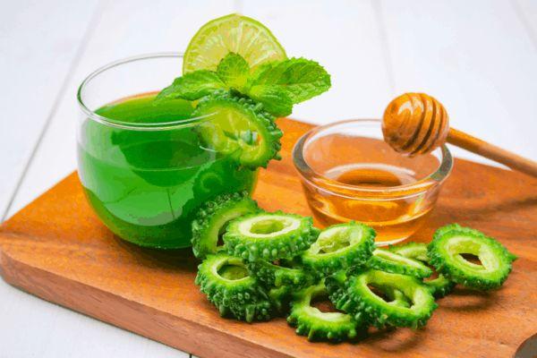 nước ép khổ qua được áp dụng nhiều trong thực đơn giảm cân