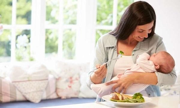 Ăn kiêng giảm cân sau sinh