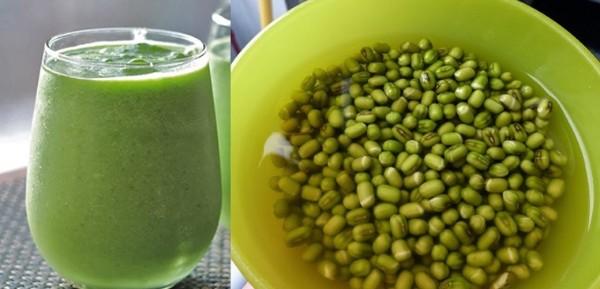 Ngoài lợi ích giảm cân, nước đậu xanh còn tốt cho tiêu hóa.