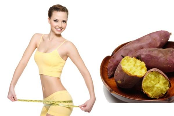 Khoai lang là loại thực phẩm giảm cân sau sinh phổ biến