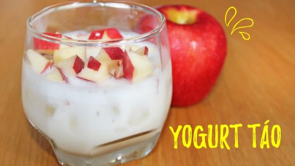 Sữa chua táo giúp cải thiện hệ tiêu hóa và siết cân nhanh hơn